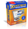 20 Hot Niche Header graphics + Resell Rights