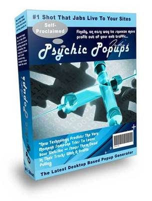 Product picture Psychic Popups With MRR