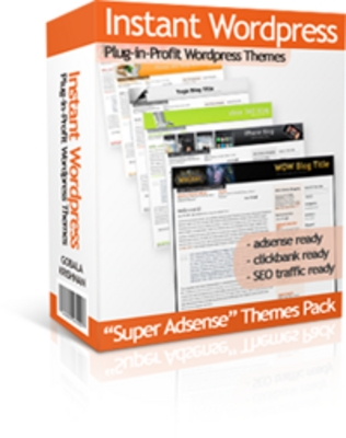 Product picture Instant wordpress Themes - MRR