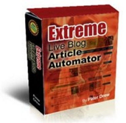 Product picture Extreme Live Blog Article Automator - MRR