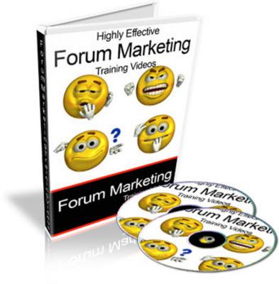 Product picture Super Forum Marketing Video Tutorials